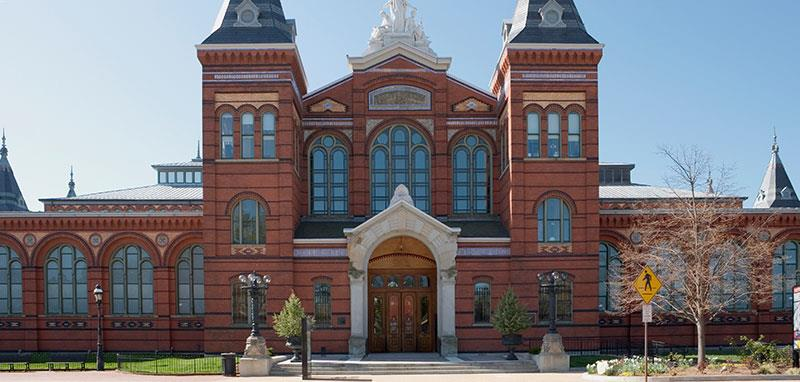 The Smithsonian Institute at Washington, DC